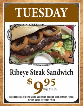 Buckboard-Tuesday-Special